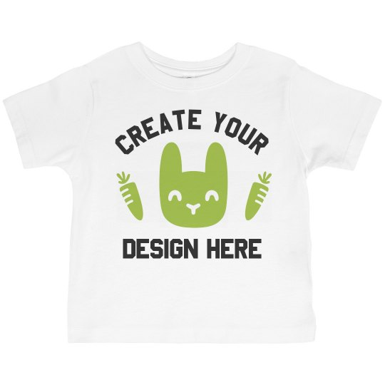 Custom Toddler Easter Tee