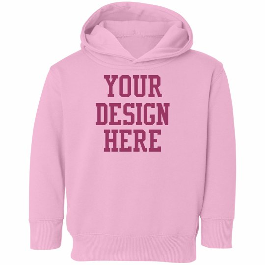 Custom Toddler Girl Hoodie
