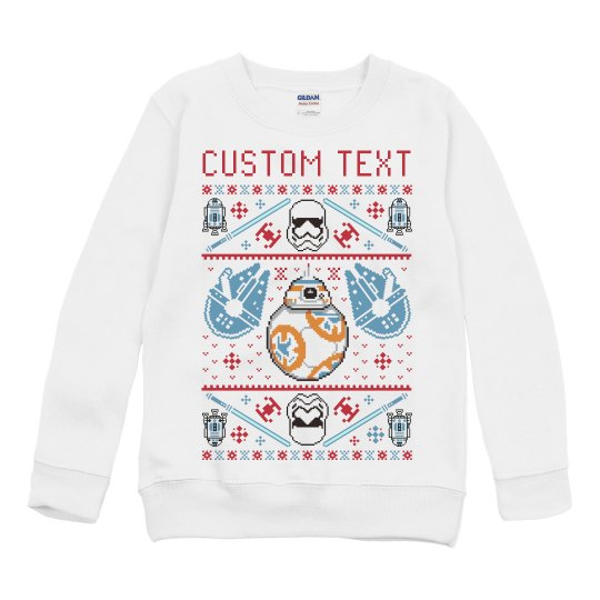 Custom Toddler Space Robots Sweater