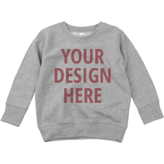 Custom Toddler Winter Ugly Sweater