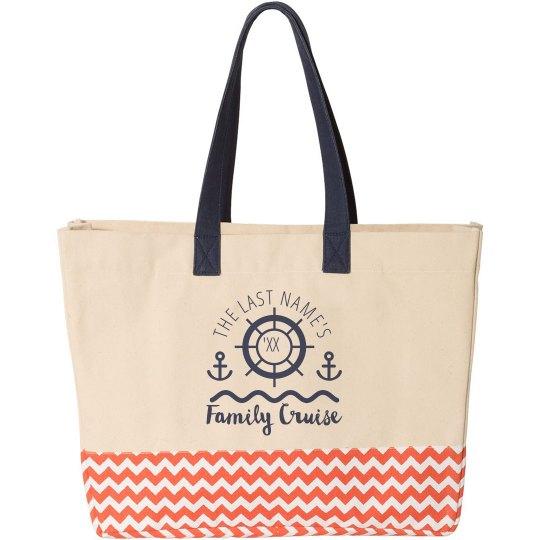 Custom Tote Family Cruise