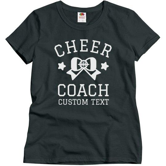 Custom Trendy Cheer Coach Design