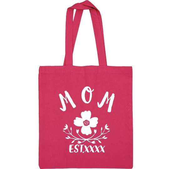 Custom Trendy Mothers Day Bag Tote