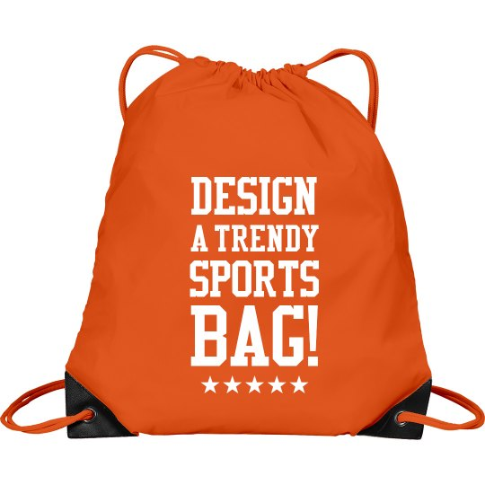 Custom Trendy Sports Clinch Bag