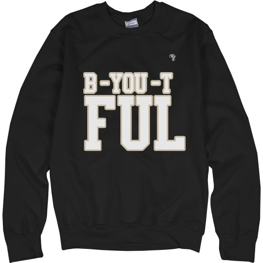 Custom trendy sweatshirt