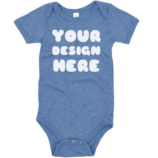 Custom Triblend Baby Shirts
