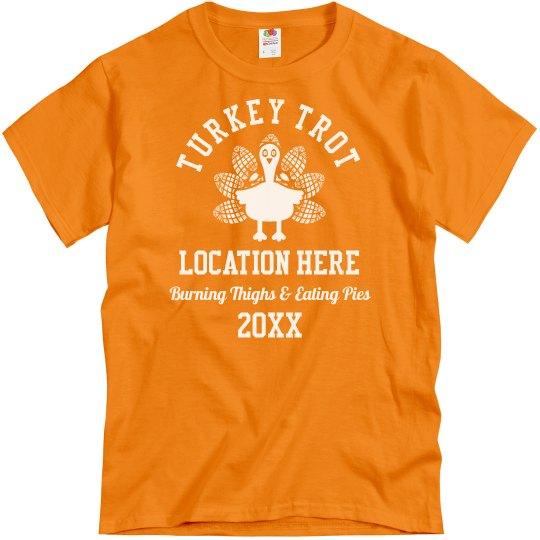 Custom Turkey Trot Group Shirts