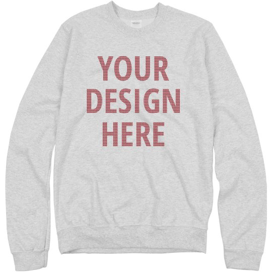 Custom Ugly Sweater Knit Pattern