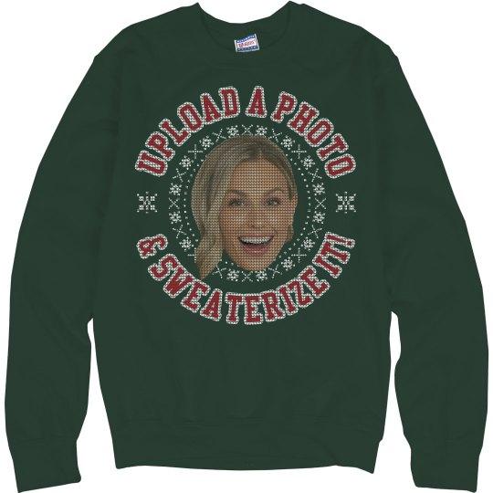 Custom Ugly Sweater Photo