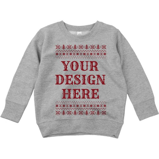 Custom Ugly Sweater Toddler