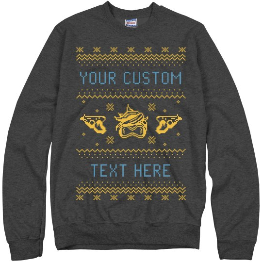 Custom Unisex Tracer Ugly Sweater