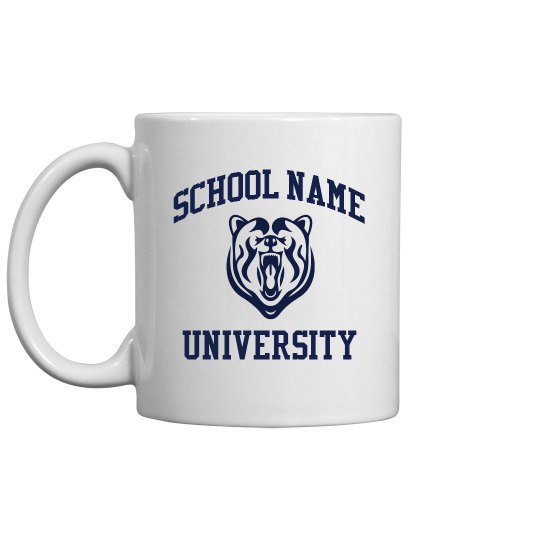 Custom University/Mascot Grad Gift