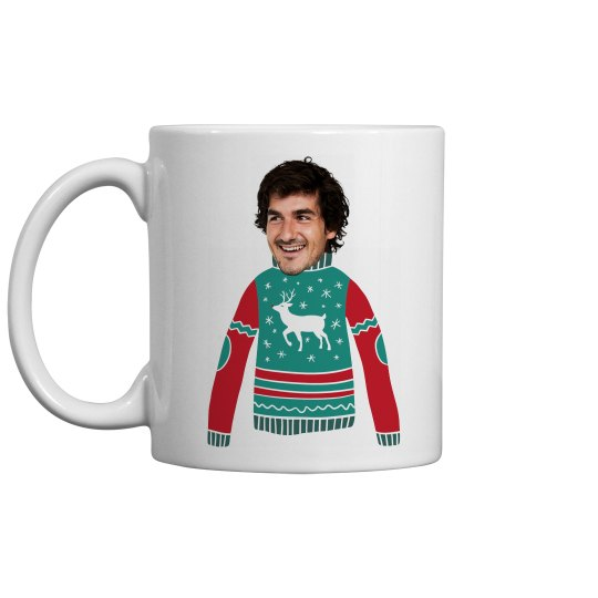 Custom Upload Fun Christmas Sweater