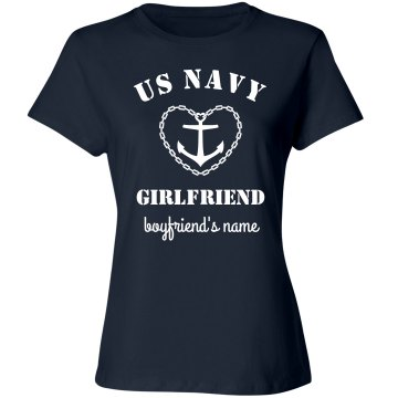 Custom US Navy Girlfriend