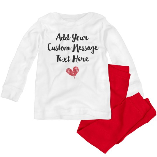 Custom Valentine From Toddler