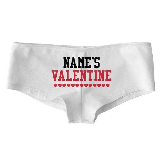 Custom Valentine's Day Hotshorts