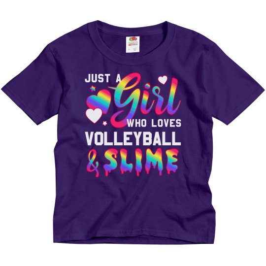 Custom Volleyball Gift Slime Queen