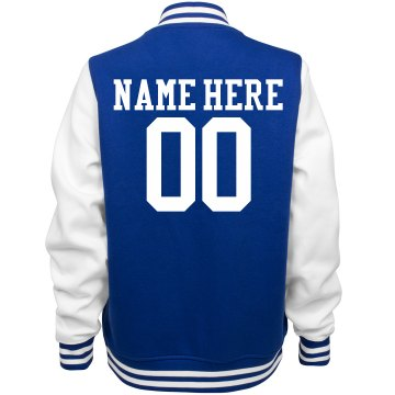 Custom Volleyball Girl Jacket With Back Name Number