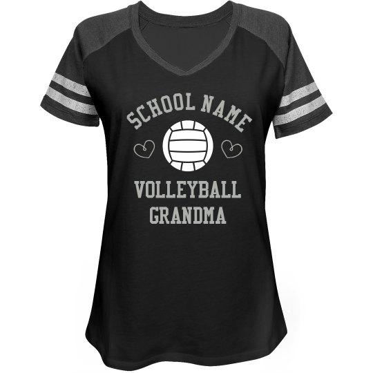 Custom Volleyball Grandma