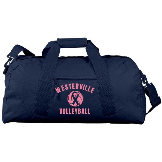 Custom Volleyball Pink