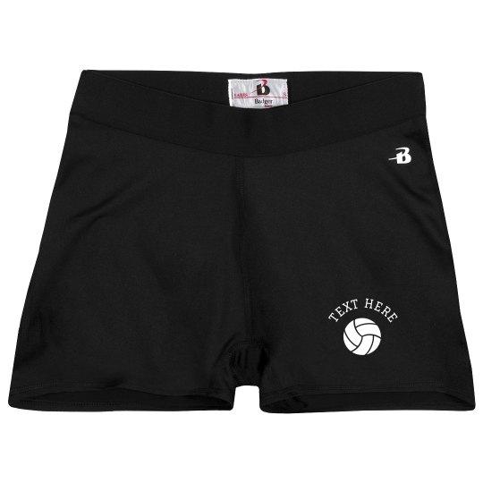 Custom Volleyball Team Compression Shorts