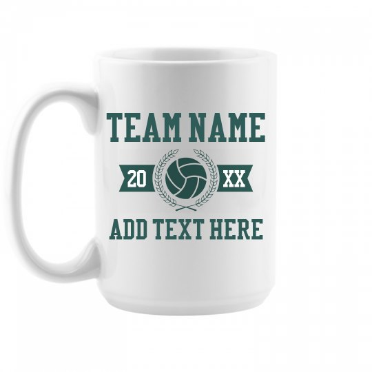 Custom Volleyball Team Gift