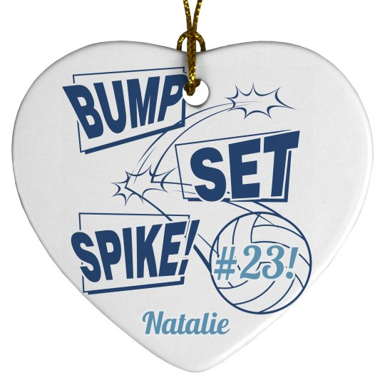 Custom Volleyball Team Gifts With Name Number