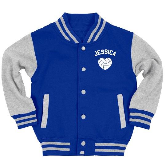 Custom Volleyball Youth Jacket