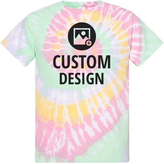 Custom VSCO Girl Tie-Dye Tees