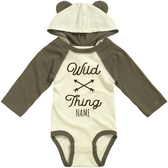 Custom Wild Thing Infant Bodysuit