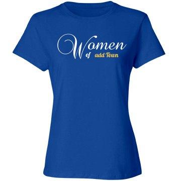 Custom women's shirt