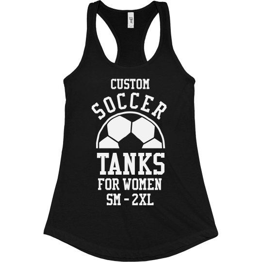 Custom Womens Soccer Tank