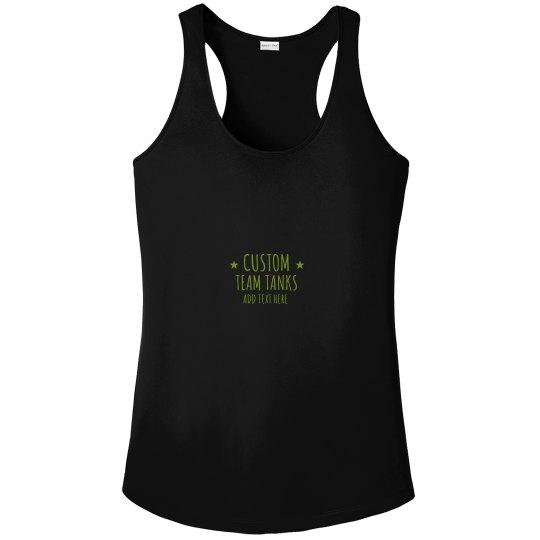 Custom Workout Team Design