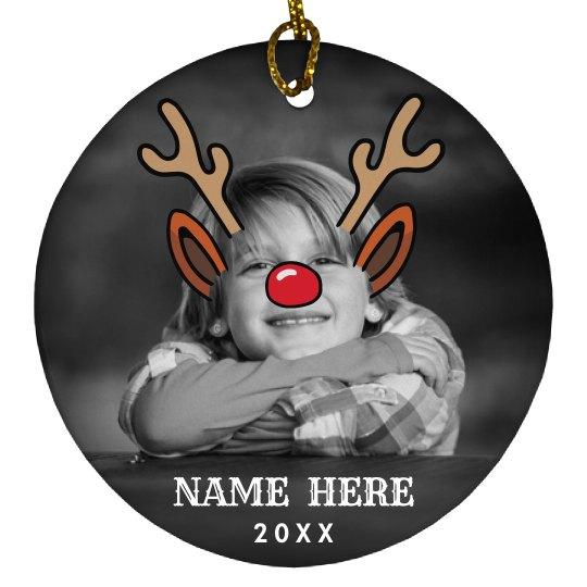 Custom Xmas Accessories Rudolph