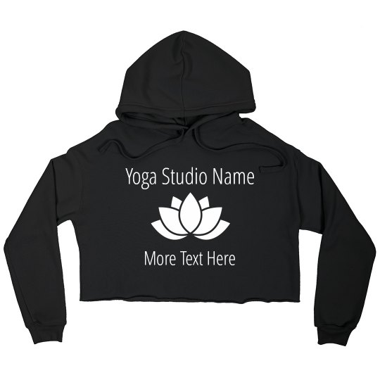 Custom Yoga Studio Logo Name