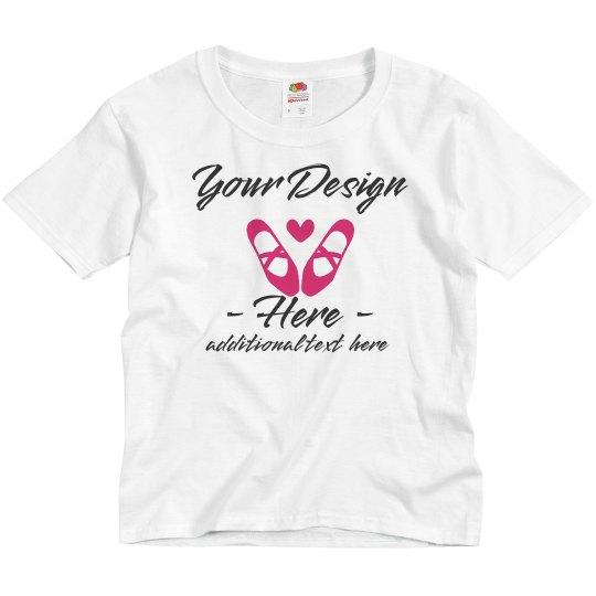 Custom Youth Dance Tee