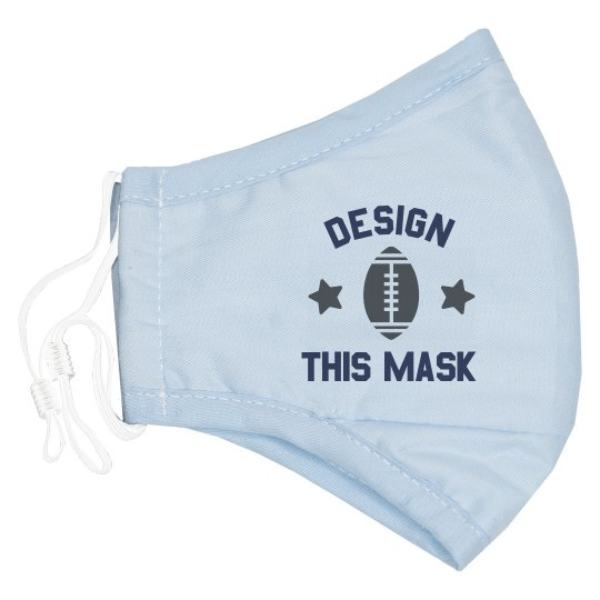 Custom Youth Football Mask