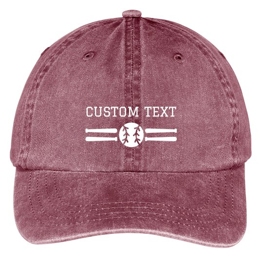 Customizable Baseball Cap