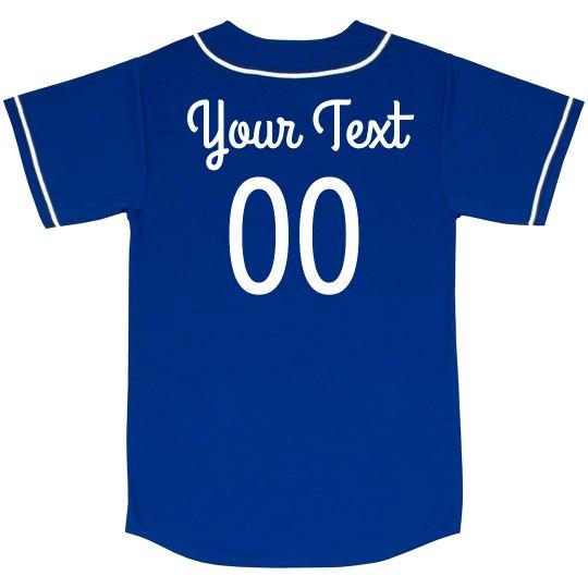 Customizable Baseball Jerseys