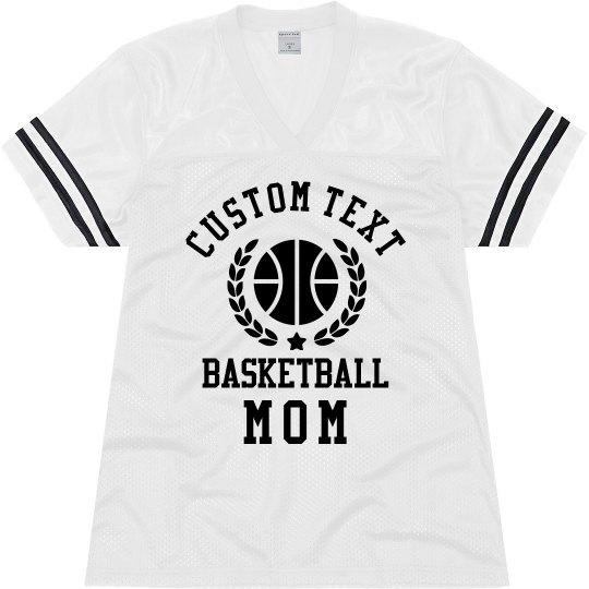 Customizable Basketball Mom Jersey