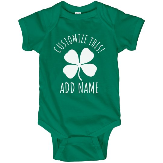 Customizable Bodysuits For St. Pat