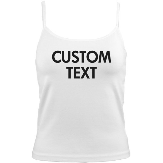 Customizable Camisole