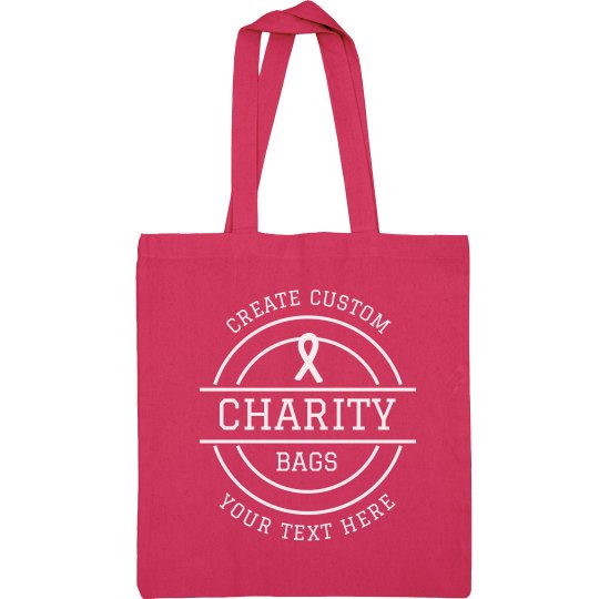 Customizable Charity Bags
