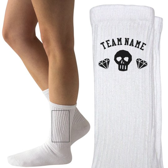 Customizable Derby Team Socks