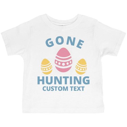 Customizable Easter Toddler Tee