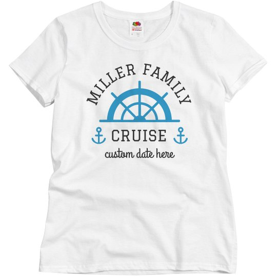Customizable Family Cruise Tees