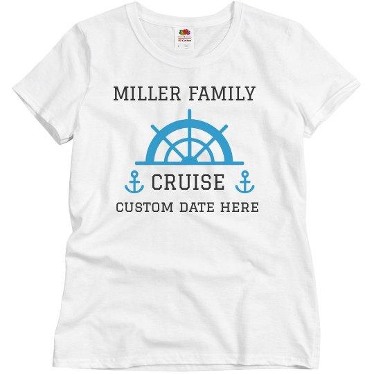 Customizable Family Cruise Tees