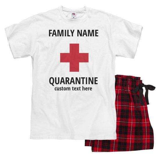 Customizable Family Quarantine Pajamas