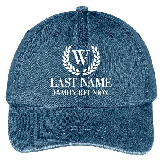 Customizable Family Reunion Hats