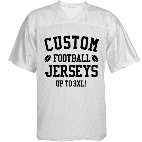 Customizable Football Jerseys!